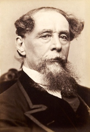 Charles Dickens. Writer of Great Expectations and many other works.