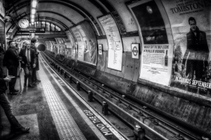 Why not go ghost hunting on London's spooky underground...