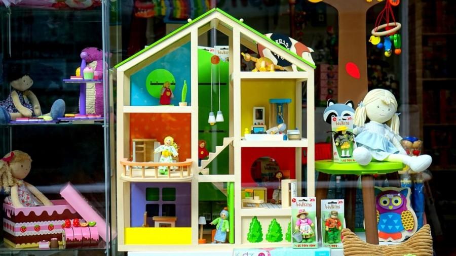 Toy shop.
