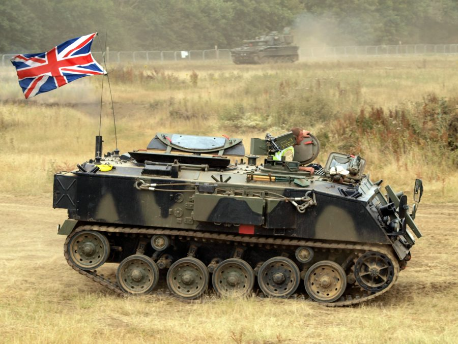 FV432 armoured personnel carrier.