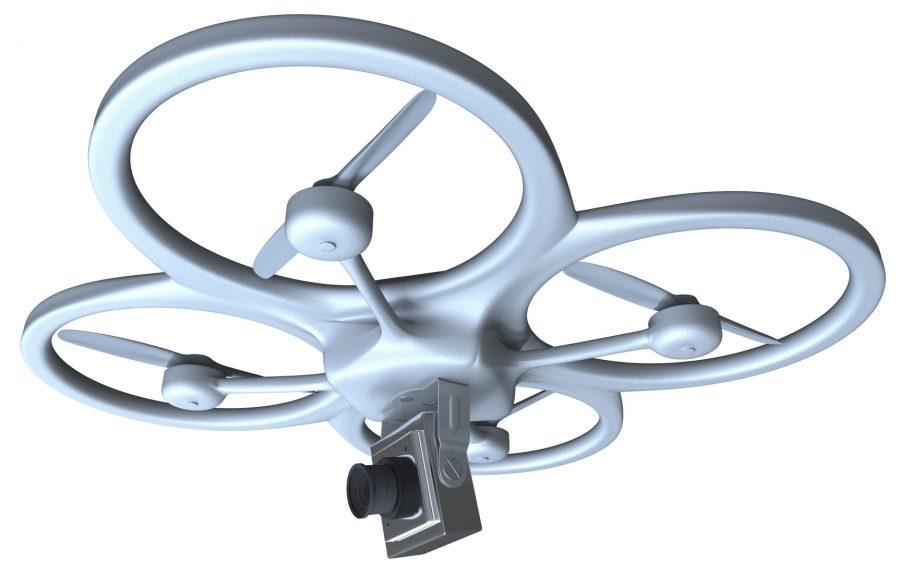 Camera drone.