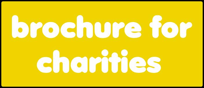 Brochure for charities