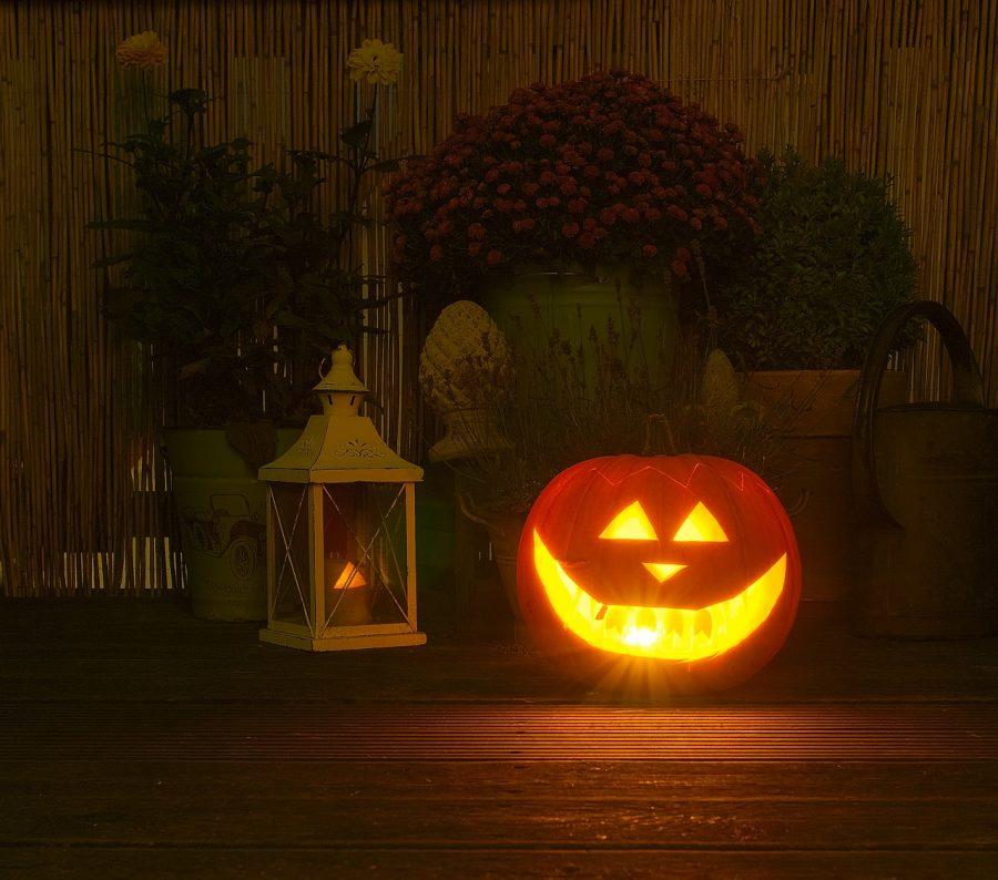 Spooky pumpkin.