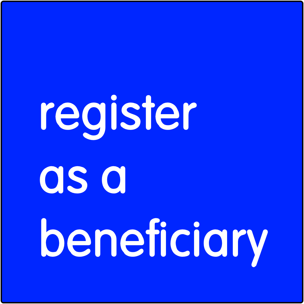 Register as a Beneficiary.