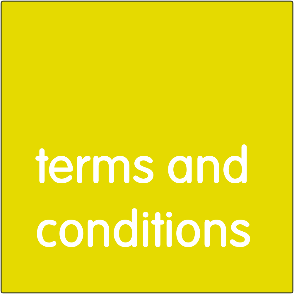 Terms and conditions for partners.