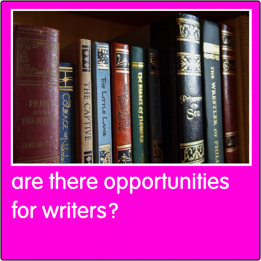 Are there opportunities for writers