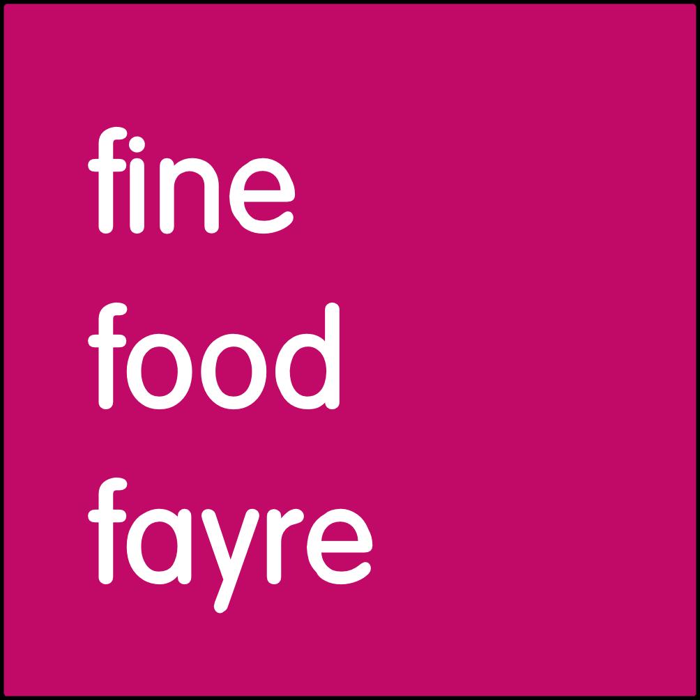 Fine food fayre.