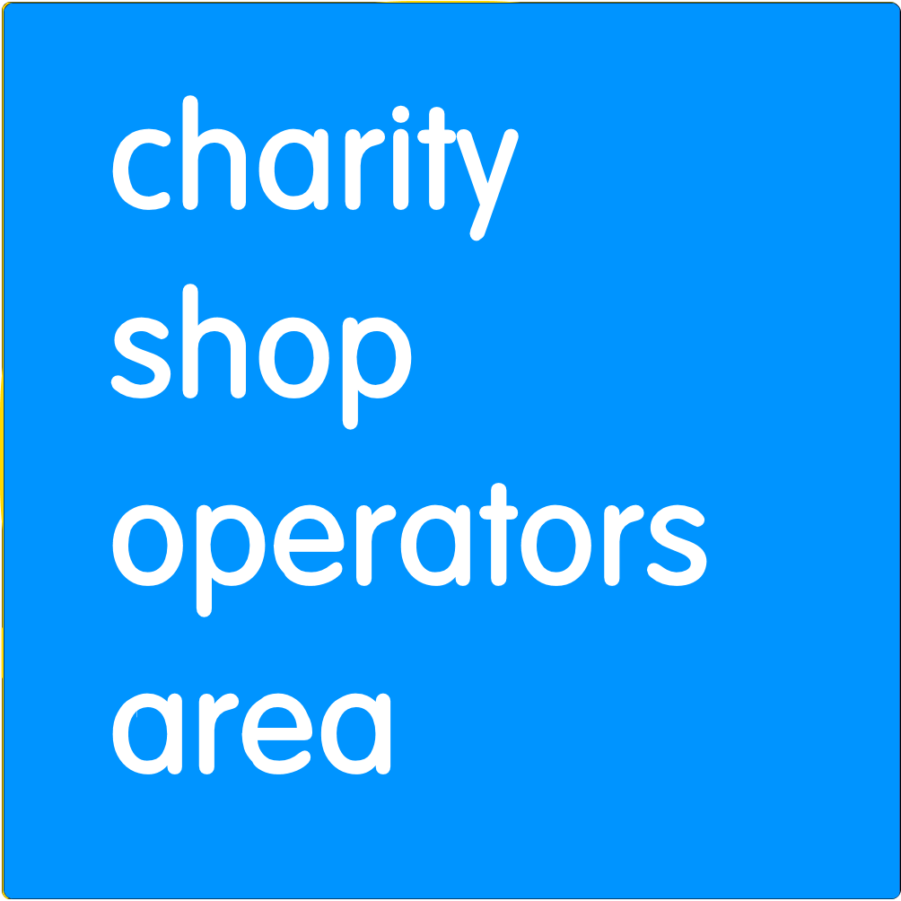 Charity shop operators area