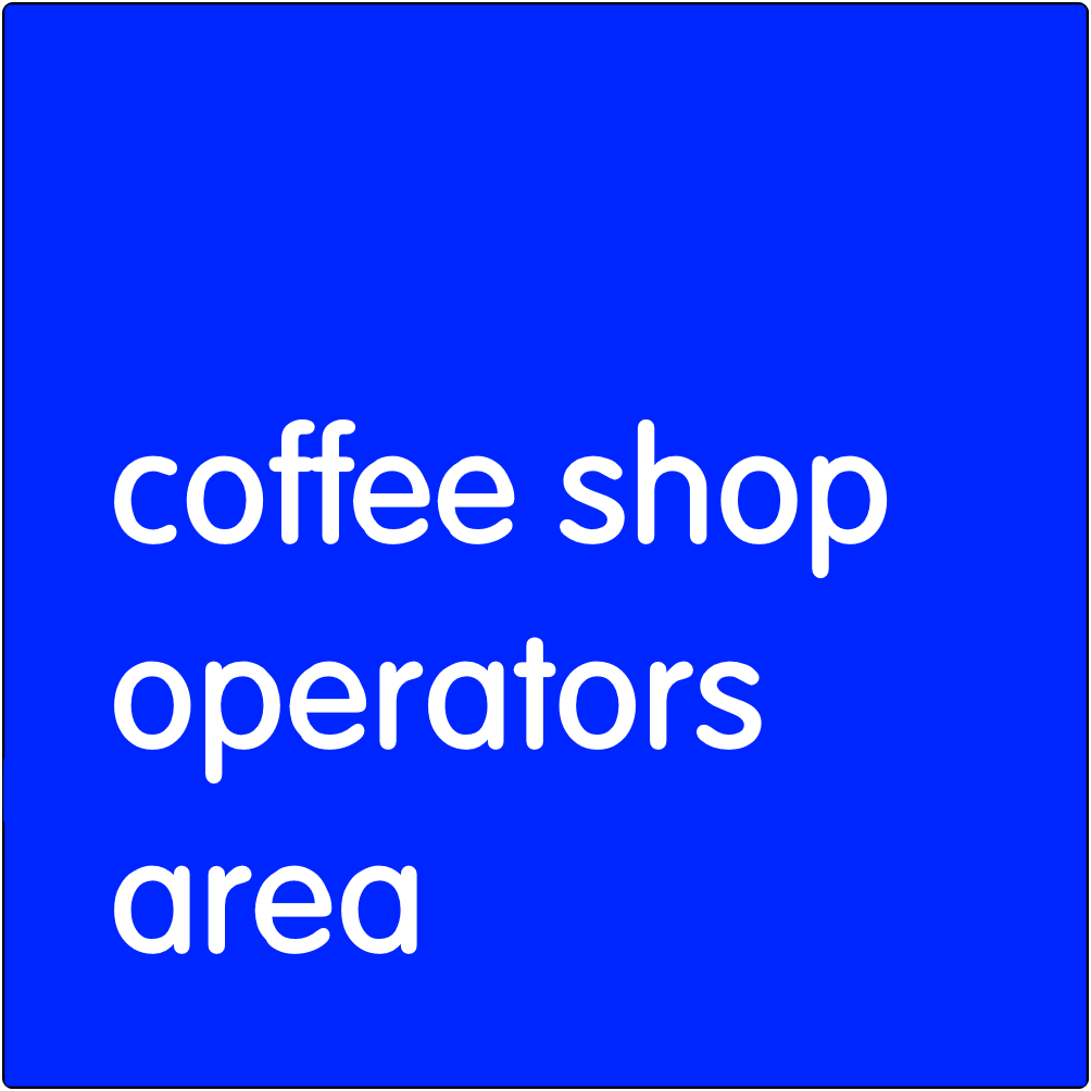 Coffee Shop Operators Area.