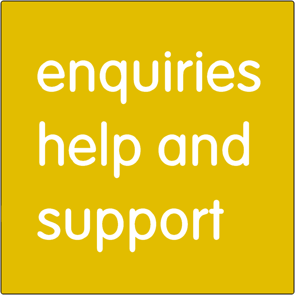 Enquiries Help and Support.