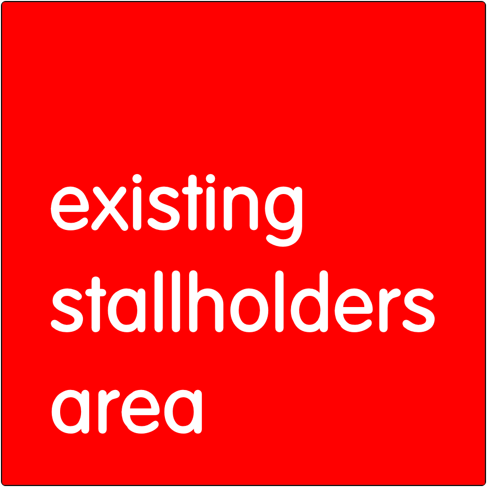 Existing stallholders area.