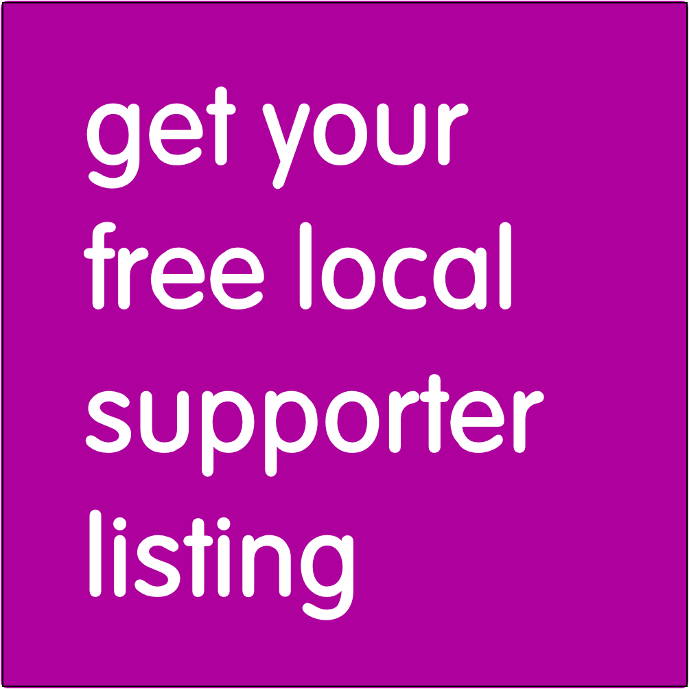 Get your free loacal supporter listing.