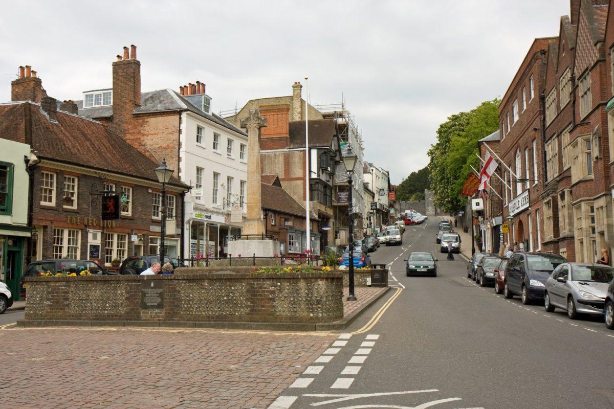 A local High Street.