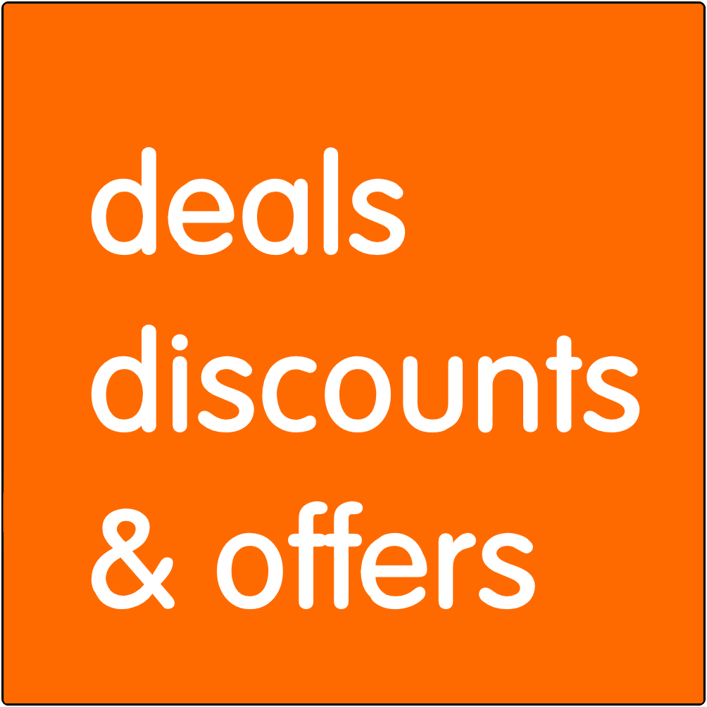 Deals discounts & offers.