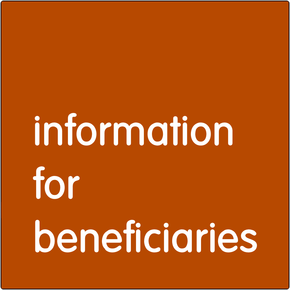 Information for Beneficiaries.