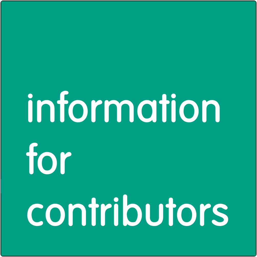 Information for Contributors.