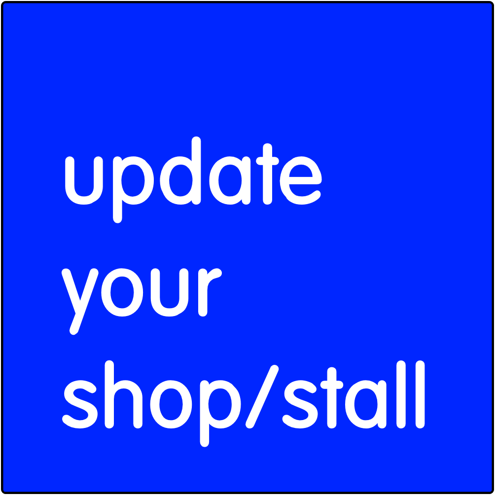 Update your shop/stall.