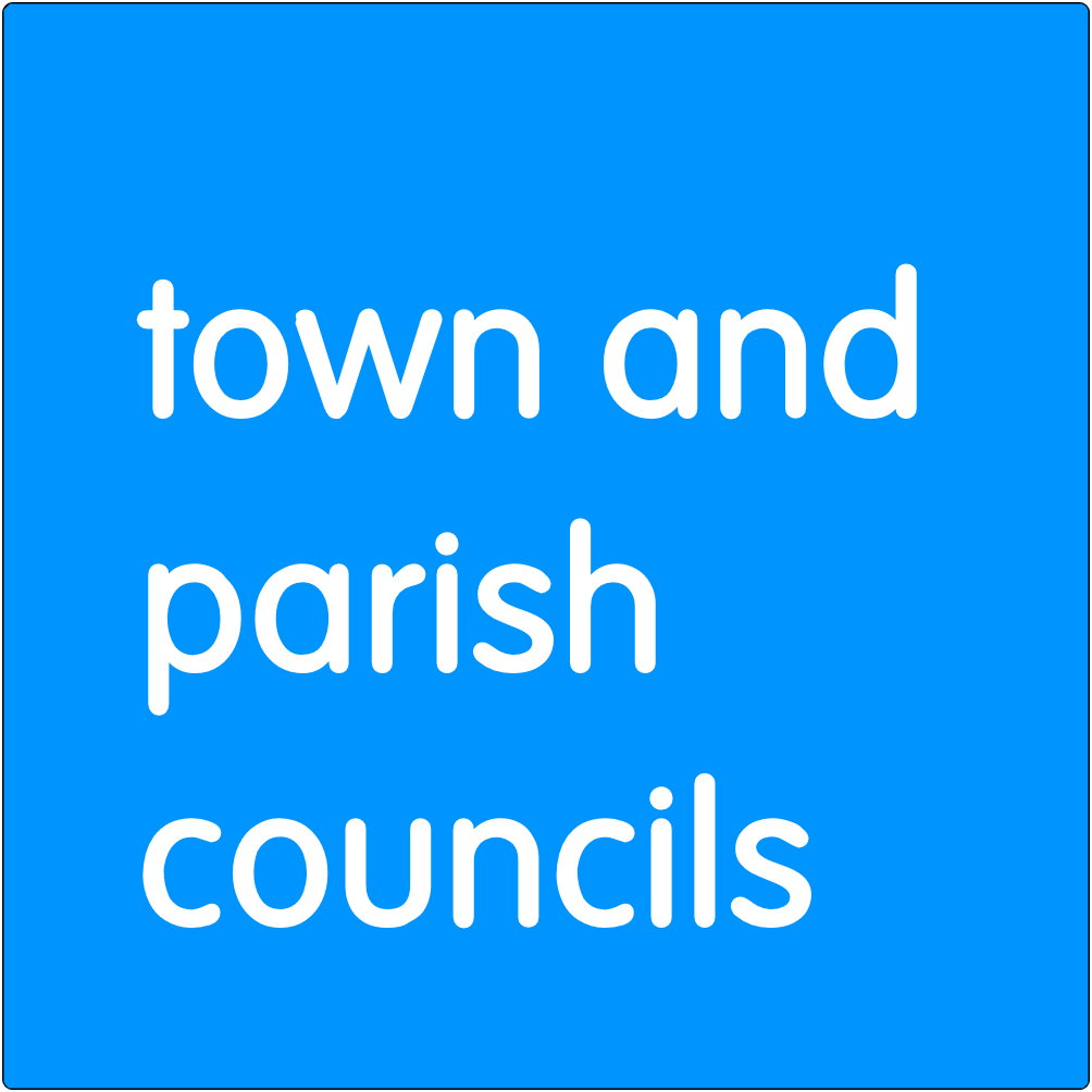 Town and Parish Councils.