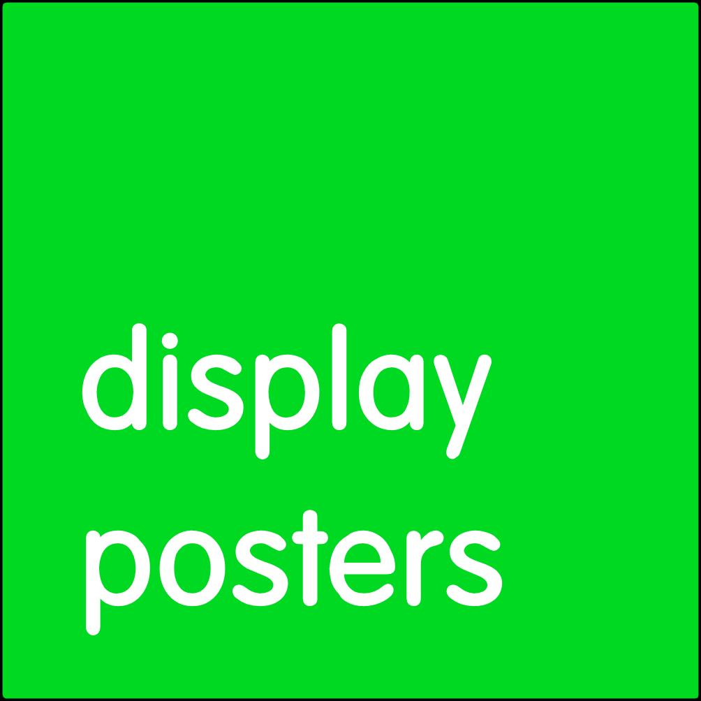 Display Posters.