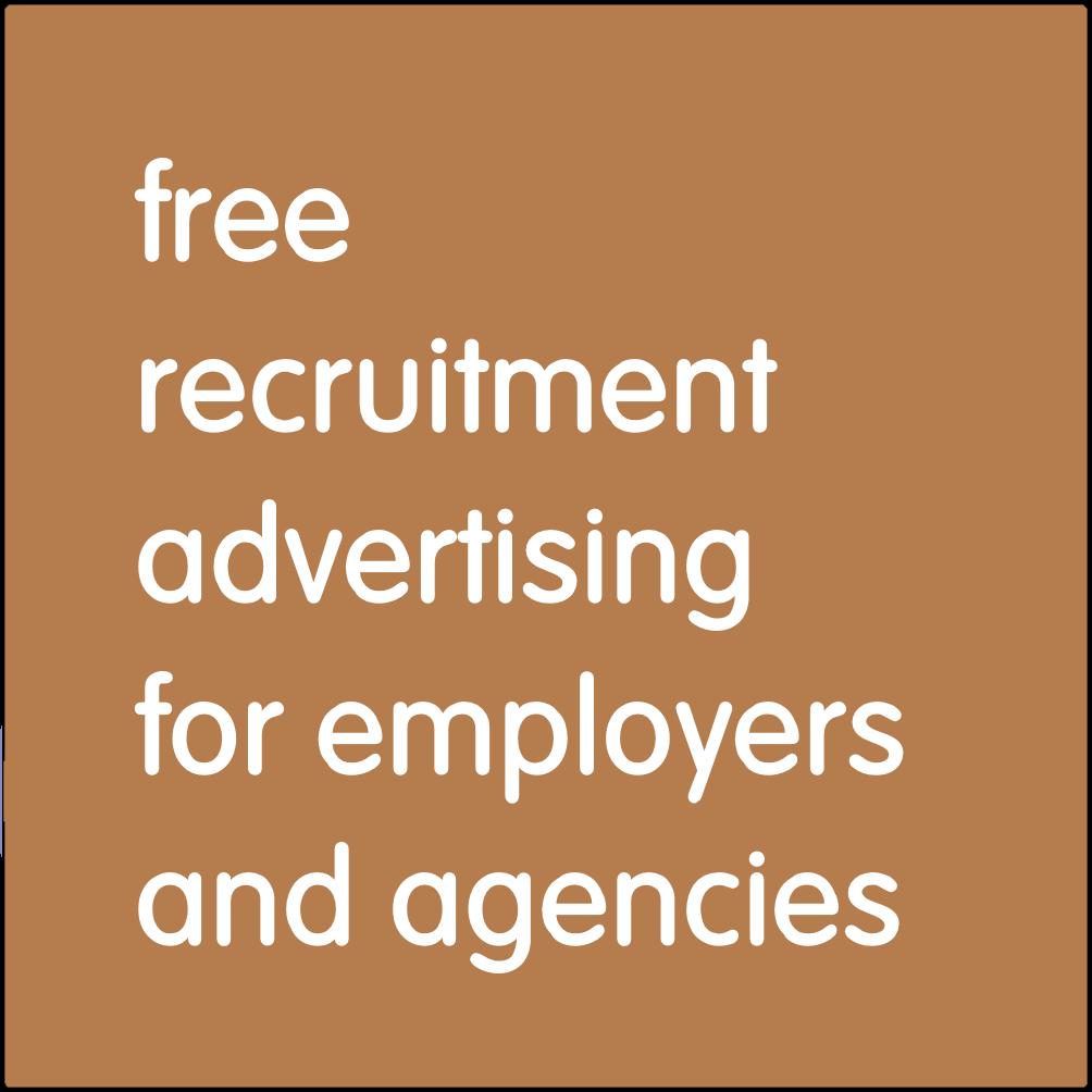 Free recruitment advertising.